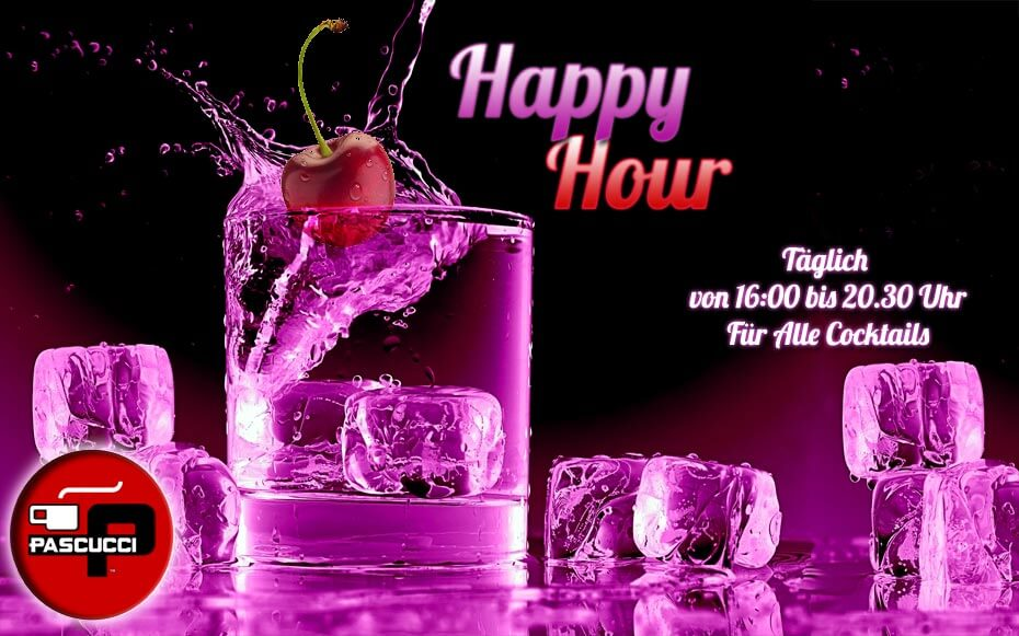 Caffè Pascucci - Flyer Happy Hour